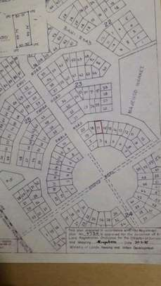 Commercial plot at Dodoma Town