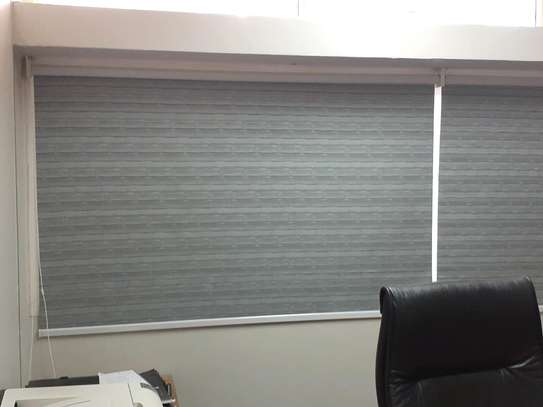 Office Curtains Grey image 2