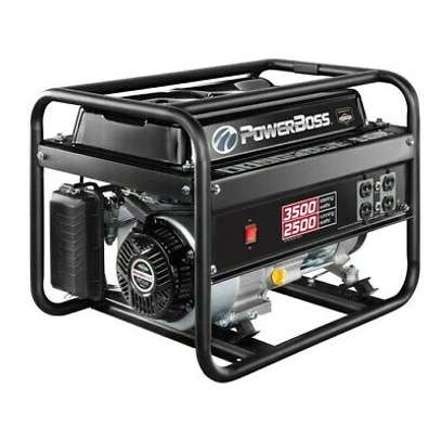 """""""The 3500 Watt PowerBoss® portable generator provides dependable power that you can take anywhere. The Briggs & Stratton 79cc Powerbuilt™ Series engine for long life, high performance. image 1"""