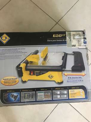QEP 650XT 7 inch Wet Tile Saw with extension table image 4