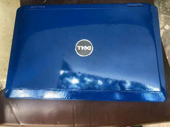 Dell laptop blue color in good condition image 1