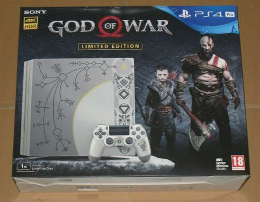 Sony PS4 God of War PS4 Pro Console 1TB Limited Collectors PAL UK Sealed Grey