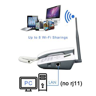 4G ROUTER AND TABLE PHONE image 1