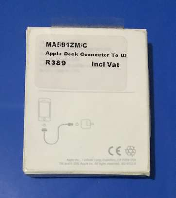 Original 1M Apple 30-pin to USB Cable image 3