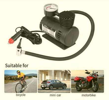 EMERGENCY TIRE INFLATOR/AIR COMPRESSOR