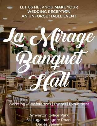 LA MIRAGE BANQUET HALL  FOR RENT image 3
