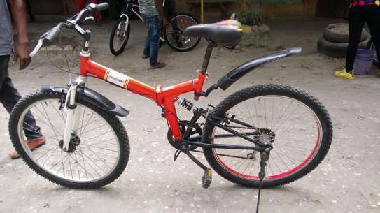 Full-suspension mountain bike image 4