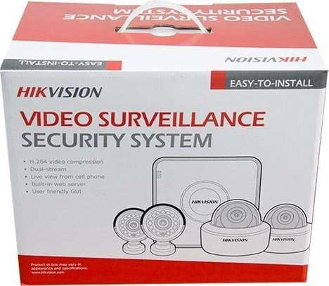 Hikvision Turbo HD 4 Channel CCTV Camera Kit with 1TB HDD,