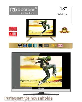 Solar HD TV 18'' Inch(Double Screen) image 1