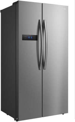 Panasonic Side By Side Refrigerator 18 FT , 527L Silver , NR-BS60MSSA image 2