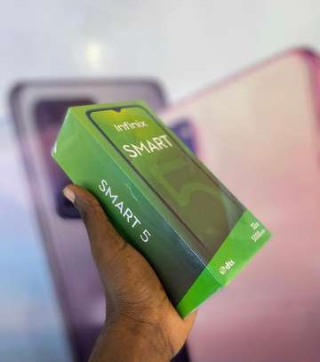 Infinix SMART 5 GB 32 PATA offer➖( Cover & Delivery BureE ) image 3