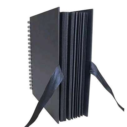 Photo Albums 80 Black Pages Memory Books, A4 Craft Paper DIY