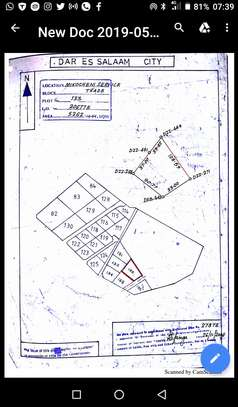 mikocheni industrial plot 5262 sqm for sale $600,000 is open yard image 3
