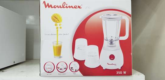 Moulinex Blender Uno 350 Watts, with Grinder and Grater image 2