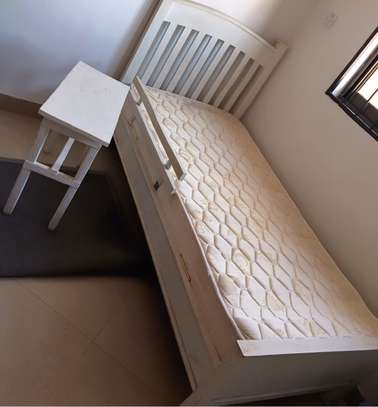 Baby/Toddler Single Bed with Spring Mattress image 1