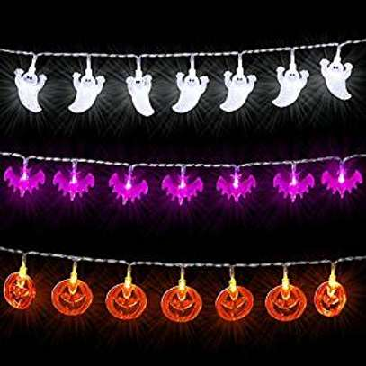 Icicle Battery Powered Halloween String Lights