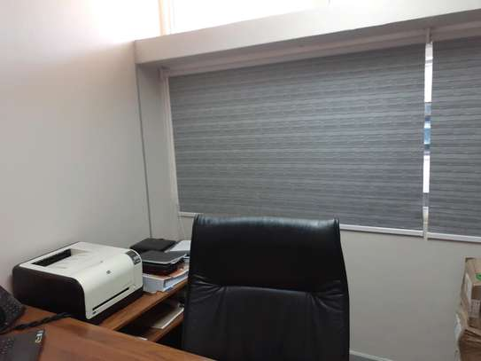 Office Curtains Grey image 3