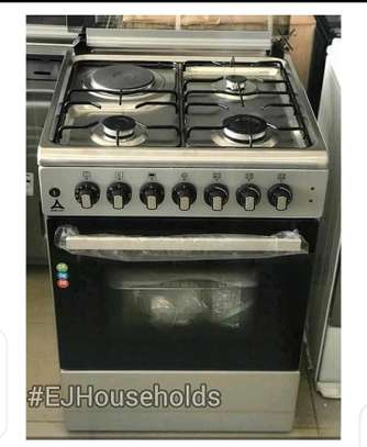 3G+1E Plate Cookers with Electric Oven. image 1
