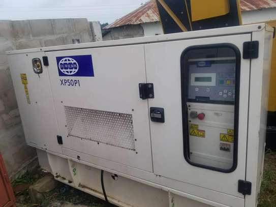 USED GENERATOR FGWILSON UK 50KVA TSHS 25MILLION