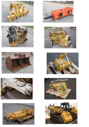 2010 HEAVY DUTY MACHINERY ENGINES AND SPARES PARTS  ASK  PRICE