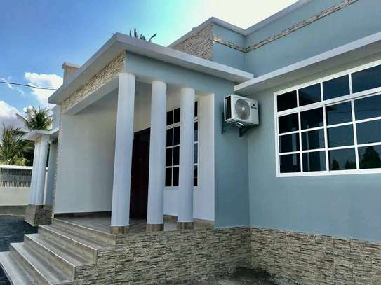 a standalone house at mbezi beach is for rent