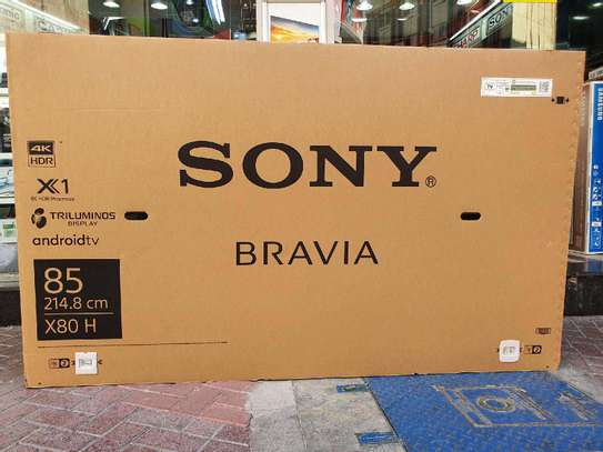 SONY BRAVIA 85 INCH SMART UHD ANDROID TV image 1