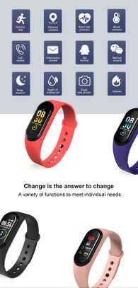 Rovtop M4 Smart band 4 Fitness Tracker Watch image 2