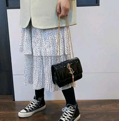 2021New trendy Fashion Casual All-match chain shoulder bag image 4