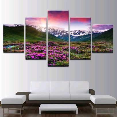 MODERN WALL CANVAS PAINTING image 9