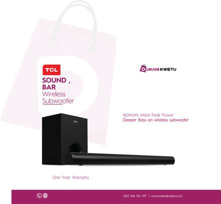 TCL  2.1 SOUND BAR  WITH WIRELESS WOOFER image 1