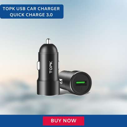 TOPK Quick Charge 3.0 Car Charger image 1