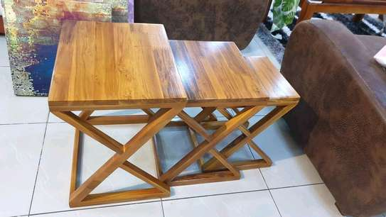 Step Wooden Coffee Table...350,000/= image 1