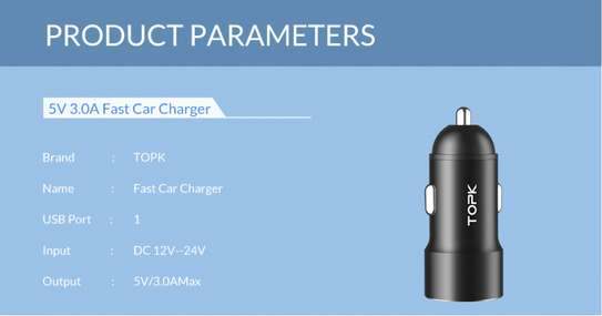 TOPK Quick Charge 3.0 Car Charger image 9