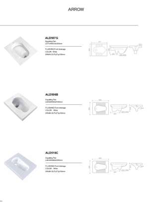 ARROW, high quality sanitary wares