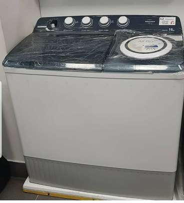 HISENSE WASHING MACHINES AVAILABLE 14KG image 1