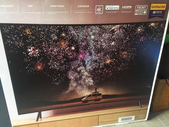 55 INCH SAMSUNG CURVED UHD TV image 1