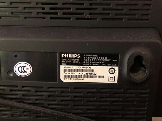 Philips Music system DCM3060 with Dock for iPod/iPhone/iPad image 3