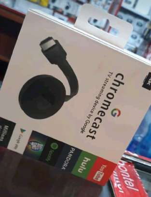 Chrome cast TV Streaming device by Google image 1