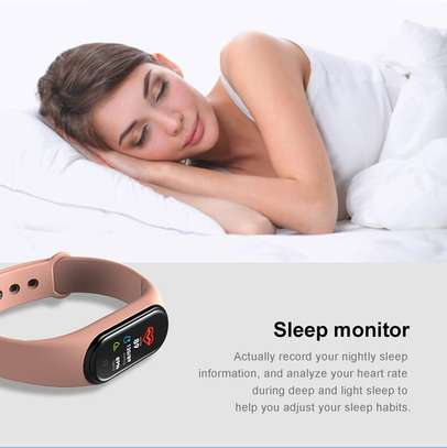 Rovtop M4 Smart band 4 Fitness Tracker Watch image 8