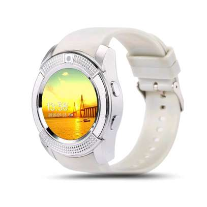 V8 Smart Watch White