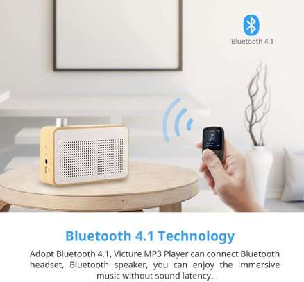 Victure Bluetooth MP3 Player 16GB Clip Sport Portable Lossless Sound Hi-Fi Music Player With Headphone FM Radio Voice Recorder, Support up 128GB image 8