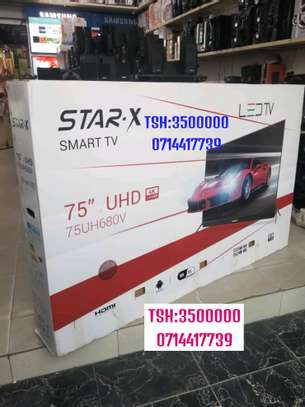 STAR X SMART ANDROID UHD 4K INCH 75 WITH SOUND BAR image 1