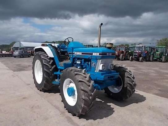 1992 Ford 6610 4WD FARM TRACTOR image 1