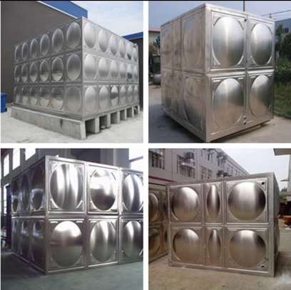 Stainless steel tank box shaped image 2