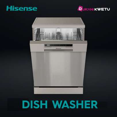 HISENSE DISH WASHER 12PLACES - STAINLESS STEEL image 1
