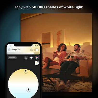 Philips Hue White and Colour Ambience GU10 Dimmable LED Smart Spot Light image 5