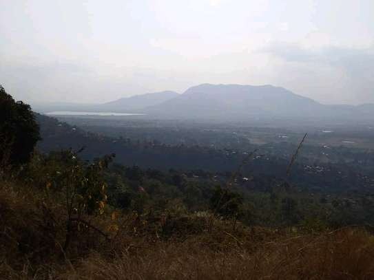 Land for sale at Morogoro on top of Mountain 360° view of water falls/town/Mindu dam/mountains image 5