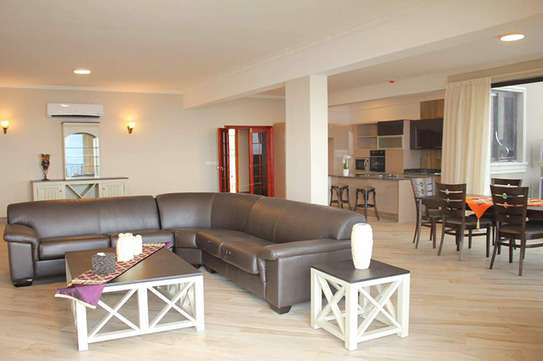 Newly Built 3 Bedroom Furnished Ocean View Apartment at Msasani