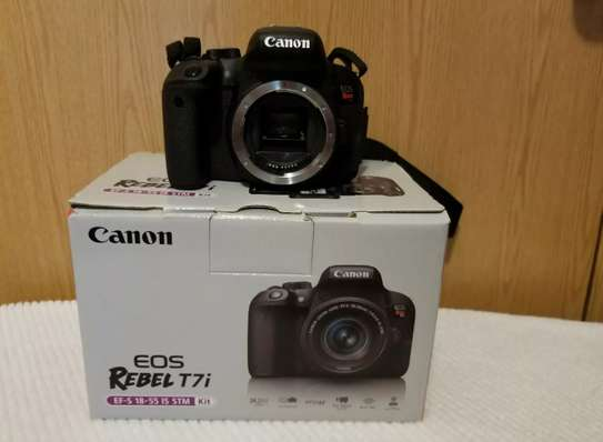New Canon EOS Rebel T7i