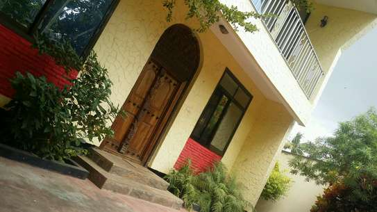 a full furnished house is for rent at msasani very close to the beach